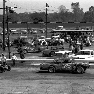 Dad 1 Dayton Speedway 1967 - Copy