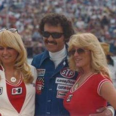 Ms. Vaughn and Richard Petty