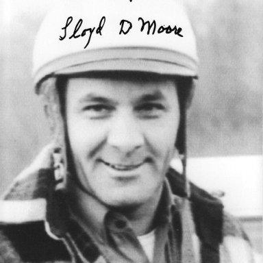 lloyd moore autograph