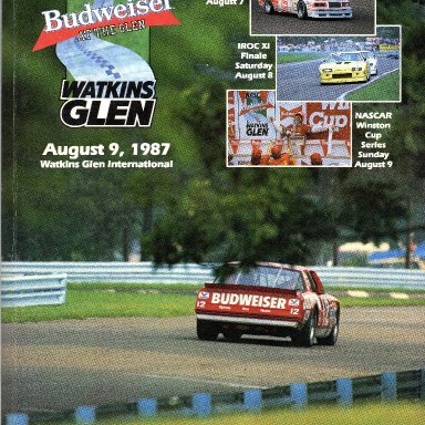 Budwiser at the Glen  August 9, 1987