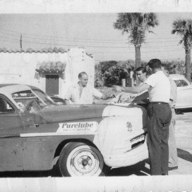lee petty + lloyd moore 1952 daytona