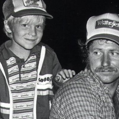 dale and jr when they were young