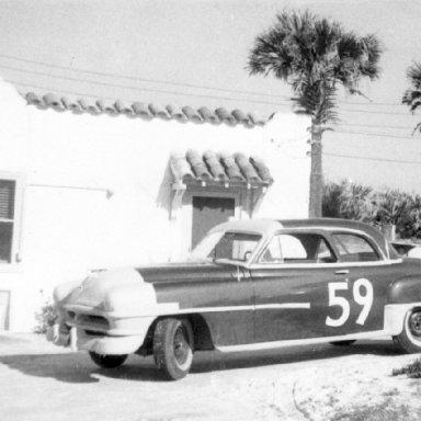 1952 daytona Lloyd Moore car