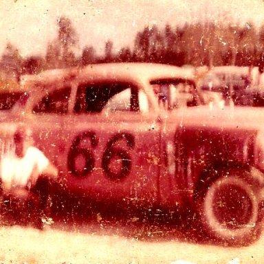 Charles Dixon Renshaw #66 1951 chevy