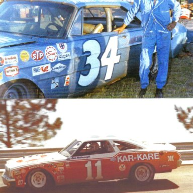 #34 Wendell Scott & #11 Cale Yarborough