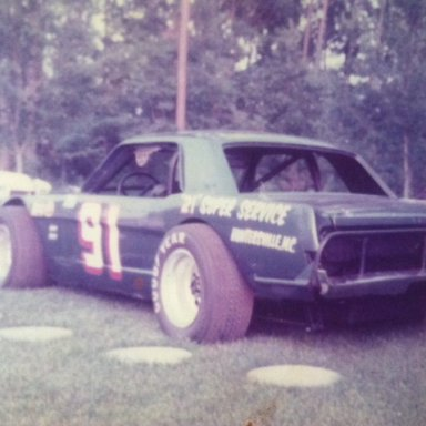 Mike Bumgarner Semi Modified, Concord Speedway 70's