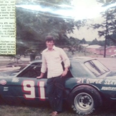 Mike Bumgarner, Concord Speedway 70's