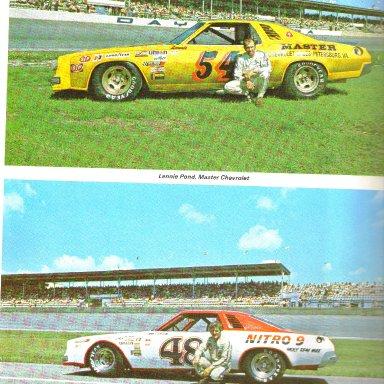 #54 Lennie Pond & #48 James Hylton