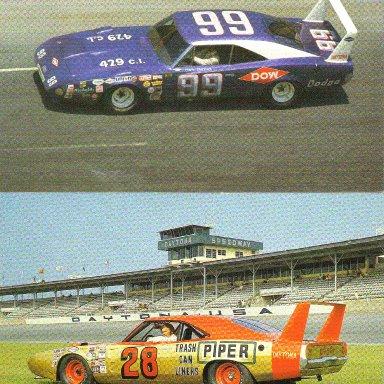 #99 Charlie Glotzbach & #28 Fred Lorenzen