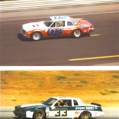 #02 Mark Martin & #33 Harry Gant