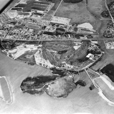Stock Island Raceway Arial View 1960s