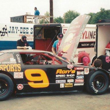 Steve Darne #9, 1991
