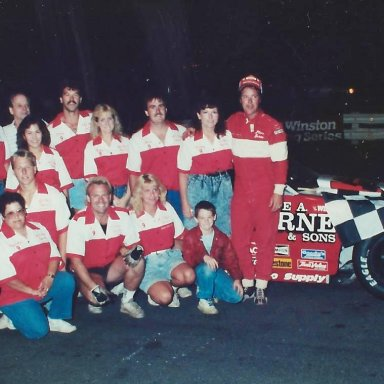 Steve Darne #9, 1989 FIRST Place