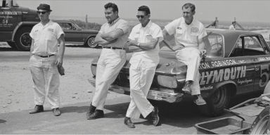 Burton & Robinson Racing Team in the 60's