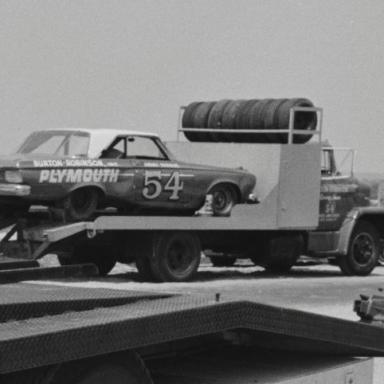 Jimmy Paurdue Burton & Robinson Hauler 1964