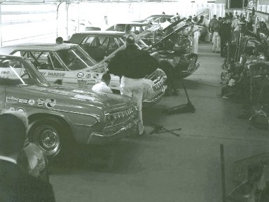 Daytona 500 Garage 1964