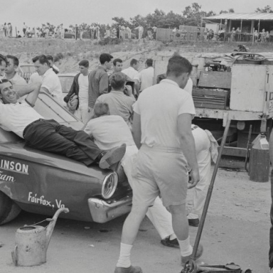 Bridgehampton 1963 Jarrett and Team Truck
