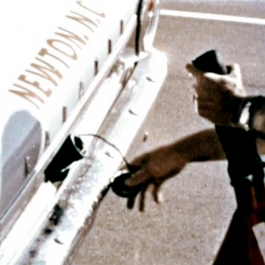 Daytona 500 1963 fuel pit