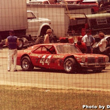 Lennie Pond #44 LMS, late '70's, Burton & Robinson Team