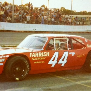 Lennie Pond LMS #44, late '70's, Burton & Robinson Team