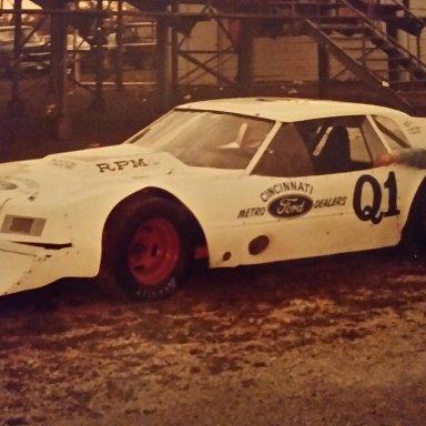 Dave Brandenburg in Bobby Korn's car