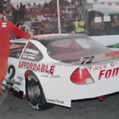 Donnie Mahaffey in Bob Korn's car. Last driver to win a championship for Bo