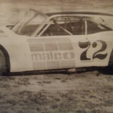 Dick Dunlevy Jr in Bobby Korn car