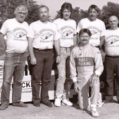 1990 Car #21 Team Photo, Shadybowl Speedway