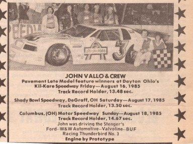 Weekend Sweep, Aug 1985
