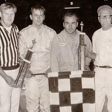 Feature Win (#25), Season Championship, Kil-Kare Speedway, September 7, 1973