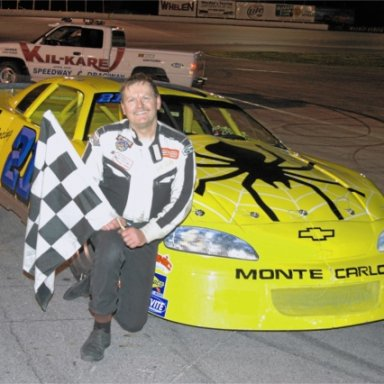 Feature Win (#293), Opening Night, Kil-Kare Speedway, April 28, 2006