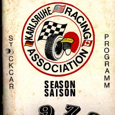 Karlsruhe Racing program 1979