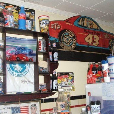 One of Harlow Nascar Room