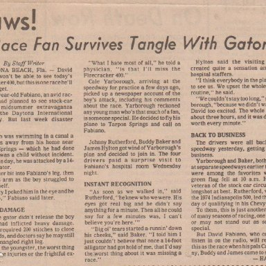 JAWS  RACE FAN SURVIVES TANGLE WITH GATOR 002