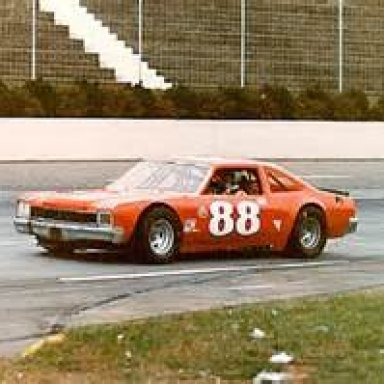 1 race car at martinsville