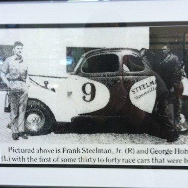 Frank Steelman, Jr. and Frank Hobson