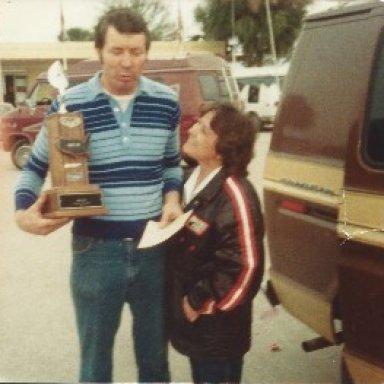 SAM & JO ARD DAYTONA 2-19-1983