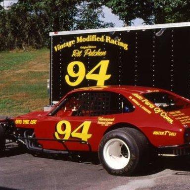 """Richard """"Rit"""" Patchin Championship winning NASCAR Modified"""