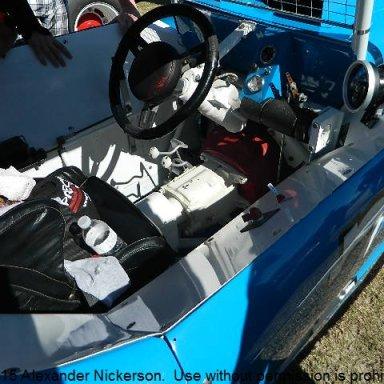 Geoff Yoder cockpit