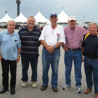 Rex, Bill, Eddie, Reb, Ronnie