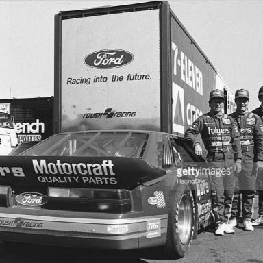 NASCAR Bedfellows Try IMSA 24 Hour-1986