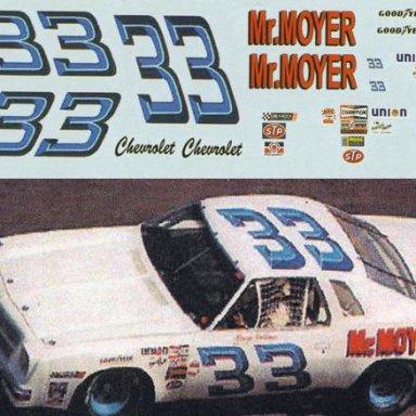 Car 33 - Moyer