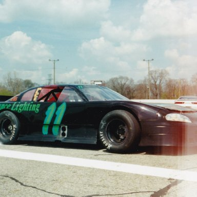 Tony Rigney owned FORD Late Model #11