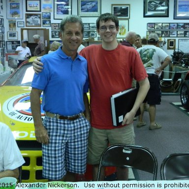 Greg Sacks and I