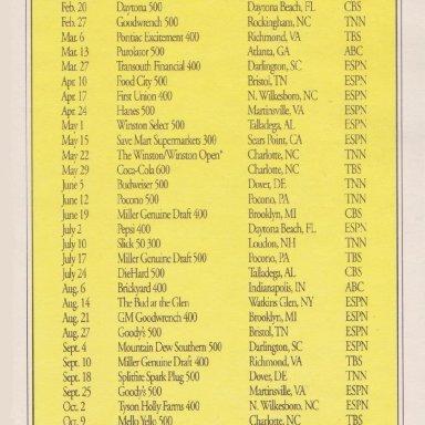 #31 WARD BURTON HARDEE'S CHICKEN PAPER TABLE MAT RIGHT SIDE 1994 ADVERTISEMENT #1B