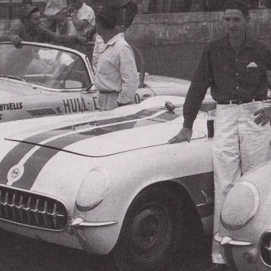 1950'S T- BIRD AND CORVETTES RACING AT MARTINSVILLE SPEEDWAY 500 - 02