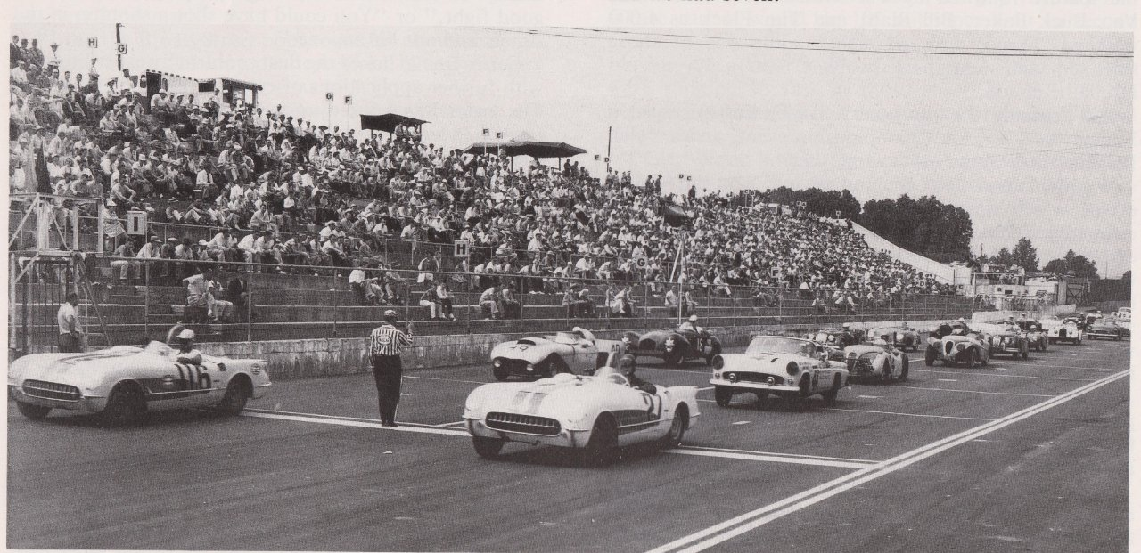 S Corvettes And T Birds Racing At Martinsville Speedway