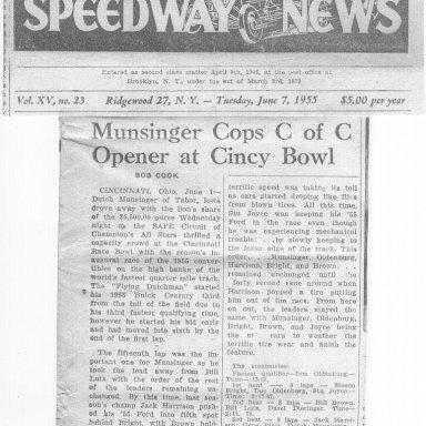 1955.6... OH  June 1 Cincy WIN