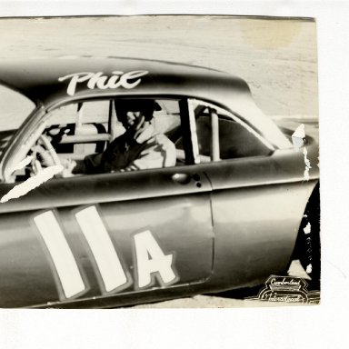 Phil Morgan in 11A Corvair, Cumberland International