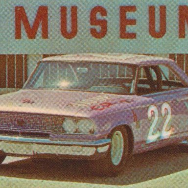 0003 #22 FIREBALL ROBERTS,OWNER HM, SPONSOR YOUNG 1963 FORD